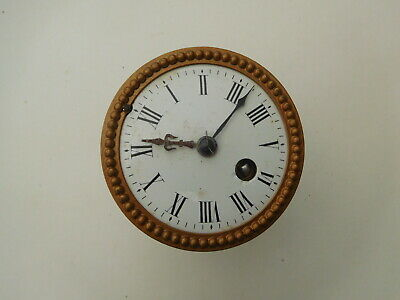 Antique Clock Face and Movement