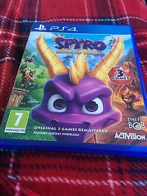 Spyro Reignited Trilogy PS4 game Great condition