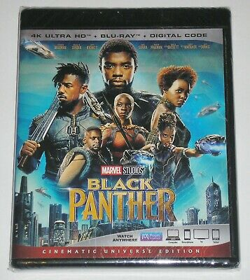 Marvel Action 4K Ultra HD + Blu-ray - Black Panther (New)