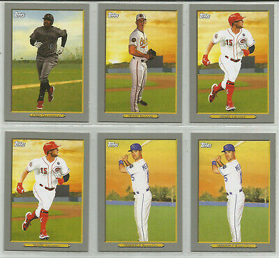 2020 Topps Baseball Turkey Red Insert Lot of 11 Cards Retail Exclusive Series 1