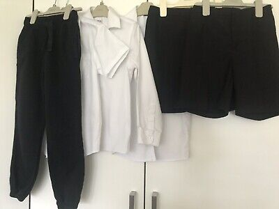 Boys age 8-9 Years School Bundle Shorts, Shirts And PE Joggers