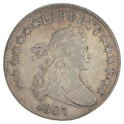 1807 Draped Bust Half Dollar *7547