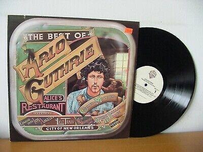 "ARLO GUTHRIE ""The Best Of"" Original LP (WB BSK 3117)."