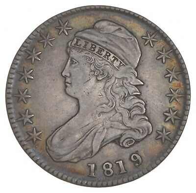 1819/8 Capped Bust Half Dollar - Small 9 - O-101 *7392