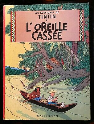 Tintin L'oreille Cassee - Hc - 1947 - French Text