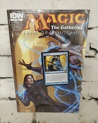 Turnabout IDW PROMO MTG Magic the Gathering Sealed Path of Vengeance #1 NEW OOP