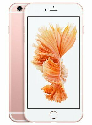 Apple iPhone 6S+ A1687 128GB iOS Mobile Smartphone Camera Rose Gold Unlocked