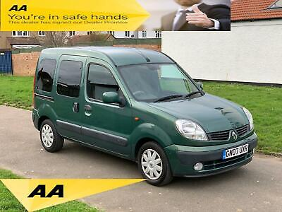 Renault Kangoo 1.6 16v 95 auto Expression, 1 Owner, Air Condition, Full History