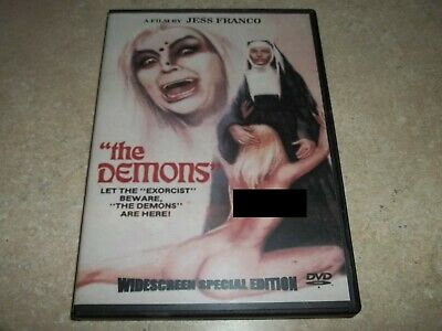 Les Demons DVD Jess Franco The Demons