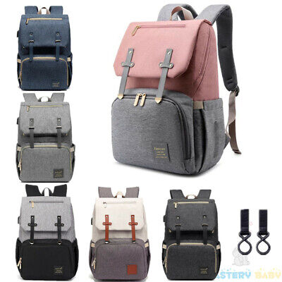 2020 NEW Luxury Baby Diaper Bag Nappy Backpack Waterproof Mummy Changing Bag
