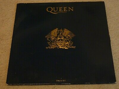 QUEEN - Greatest Hits II - Rare UK 1st Press LP + Inners - PMTV2 - VG Condition