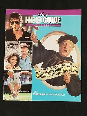 1987 June *Back To School-Dangerfield* Hbo Home Box Office The Guide (As)