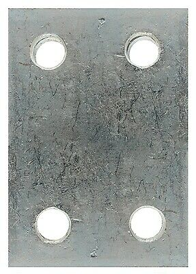 Drop Plate - 4 Hole - Zinc Plated - 2in.  230 MAYPOLE