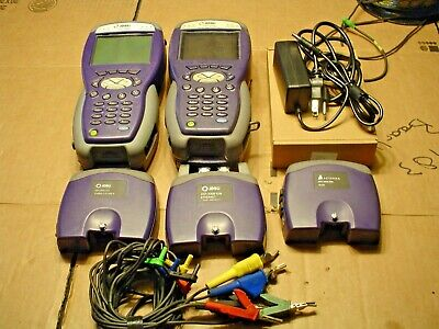 JDSU HST-3000  2 TEST SETS COLOR & B&W  HST 3000c WITH CORDS AND BATTERY PLUS