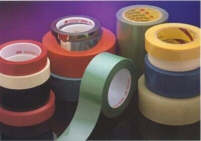 3M Lithographers Tape 616 Ruby Red, 3/4 in x 72 yd 2.4 mil, 48 per case Boxe