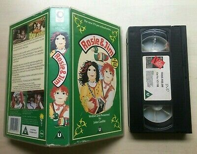 Rosie And (&) Jim - Vhs Video