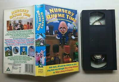 Nursery Rhyme Time - Bbc - Vhs Video