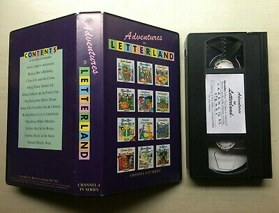 Adventures In Letterland - Vhs Video