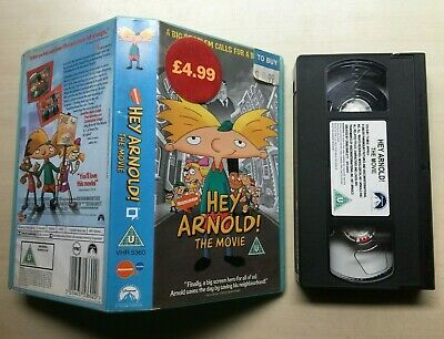 Hey Arnold! - The Movie - Vhs Video