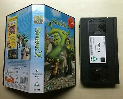 Shrek 2 - Dreamworks - Vhs Video