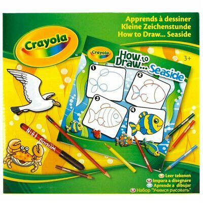 Crayola How To Draw - Seaside