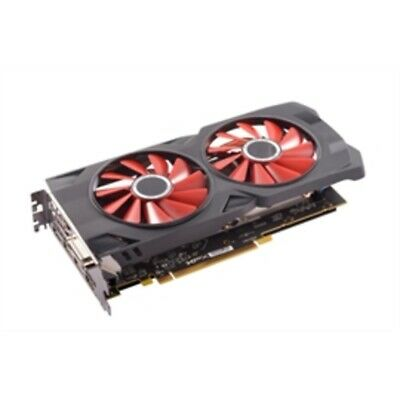 XFX Video Card RX-570P8DFD6 AMD RX 570 8GB 256B DDR5 PCIE 3xDP/HDMI/DVI Retail