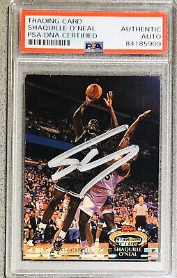Shaquille O'Neal Signed 1992-93 Stadium Club Shaq Auto Rookie Autograph PSA/DNA