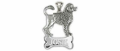 Portuguese Water Dog Jewelry Sterling Silver Handmade Portuguese Water Dog Perso