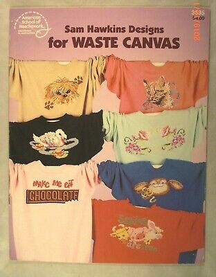 Sam Hawkins Designs for Waste Canvas - ASN 3535 - 16 Patterns