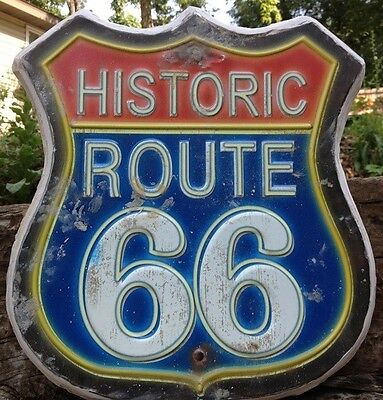Rt 66 Historic, Stepping Stone, Plaque,  Concrete Mold, plastic mold,