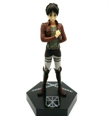 Movic Color Colle Attack on Titan SNK Kyojin Eren Yeager Mascot Figure Clip NEW
