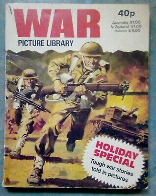 War Picture Library Holiday Special Comic Vintage