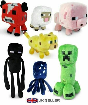 Minecraft Animal Plush Toys Stuffed Animals Soft Toy Plushies for kids