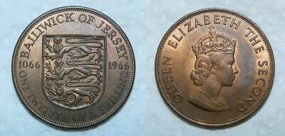 Jersey 1/12 Shilling - Penny - 1966 - Lustrous Ef
