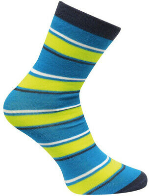 Dare2B Footloose Junior Winter Socks Blue Green Warm Ski Sock Childrens Kids