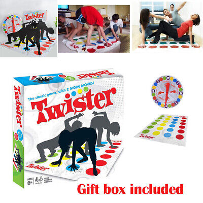 Funny Twister Classic Family Kids Children Party Body Games 2 More Moves