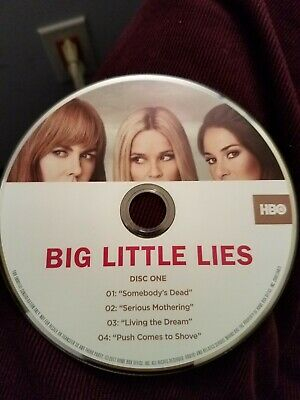 BIG LITTLE LIES Reese Witherspoon HB0 2017 FYC EMMY DVD Complete Season 1