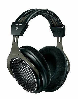 Shure SRH1840 Open Back Headphones with Replaceable Cable