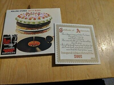 played once CD 2002 THE ROLLING STONES LET IT BLEED ABKCO