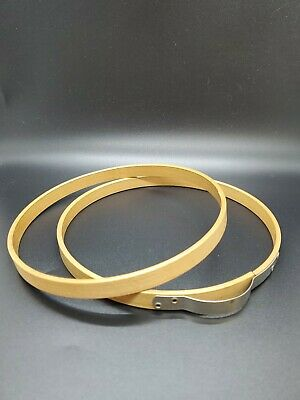 "Vintage PRINCESS 6"" Wood Embroidery Adjustable Spring Hoop No Felt"