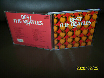 The Beatles CD Best The Beatles Vol. 4  - JAPAN ONLY