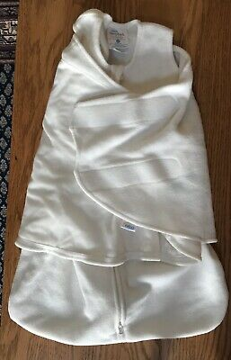 Halo Sleep Sack Swaddle Cream Fleece Wearable Blanket Newborn 0-3 months
