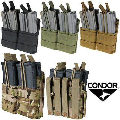 Condor MA43 MOLLE PALS Modular Double Stacker Rifle Magazine Pouch - ALL COLORS