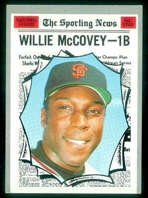 1970 TOPPS #450 WILLIE McCOVEY ALL STAR VGEX