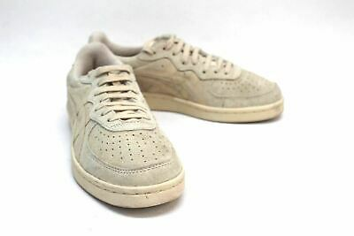 ONITSUKA TIGER Ladies Beige Suede Lace Up Trainers Shoes Size UK4.5 EU37.5