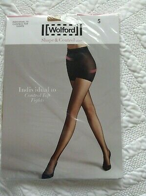 Wolford Individual 10 Control Top Tights Sand sizes S /& L