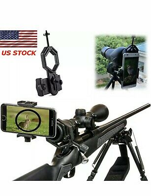 Universal Cell Phone Camera Binocular Mount Adapter For Telescope Spotting Scope