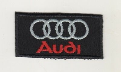Auto Aufnäher Patches Audi Patch