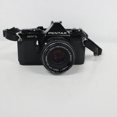 Vtg 1970s Pentax MV1 35mm Compact SLR Film Camera #454
