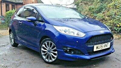 ford fiesta zetec s 1.0 ecoboost long mot stop start air con hpi clear free tax